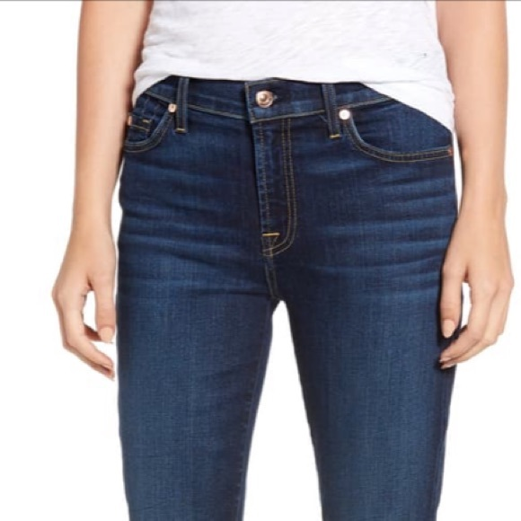 "7 for all mankind ""the skinny"" jeans"